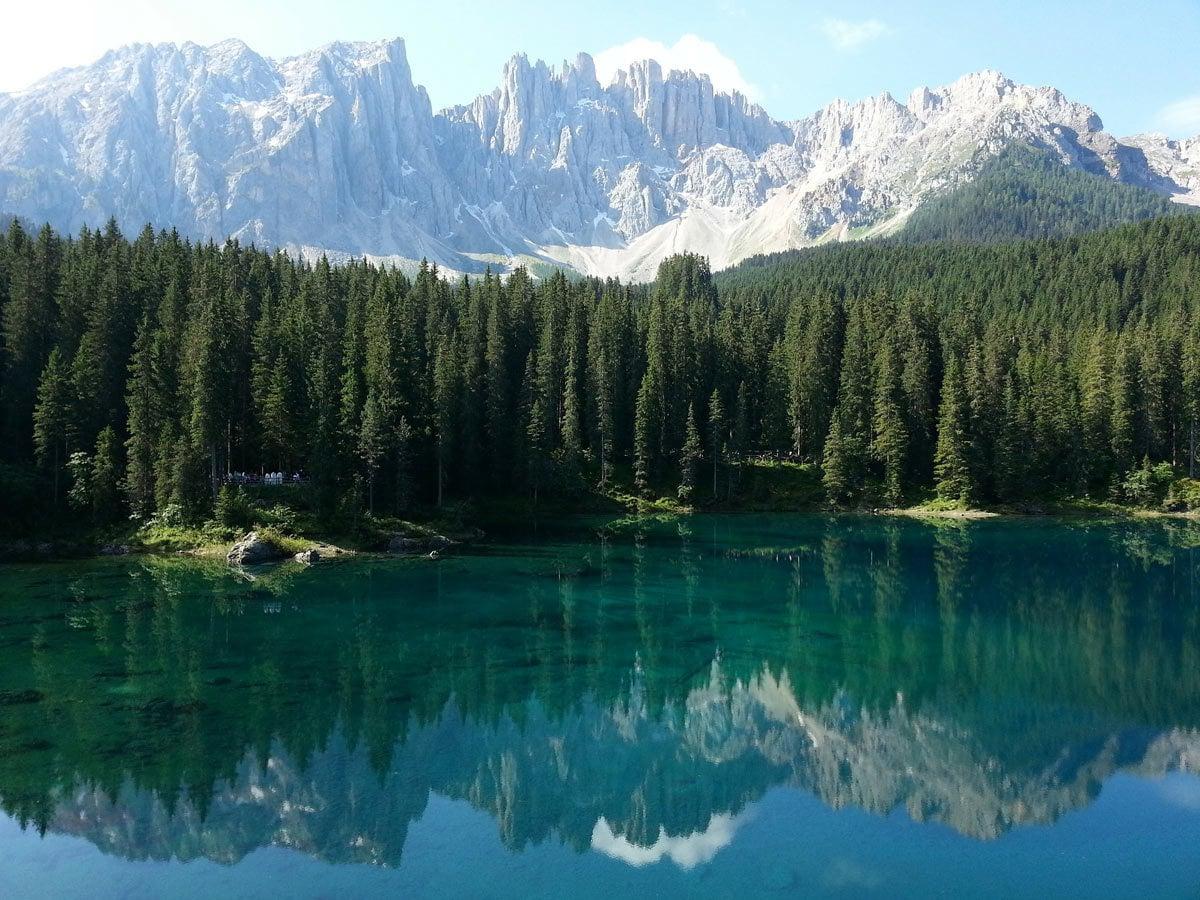Karersee Lago Di Carezza Vitalpina Hotel Pf 246 Sl Hotel