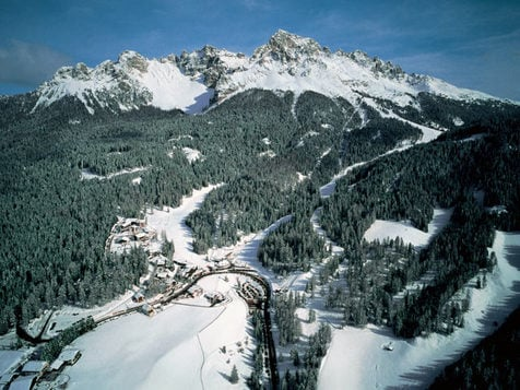 The Obereggen / San Floriano Ski Area