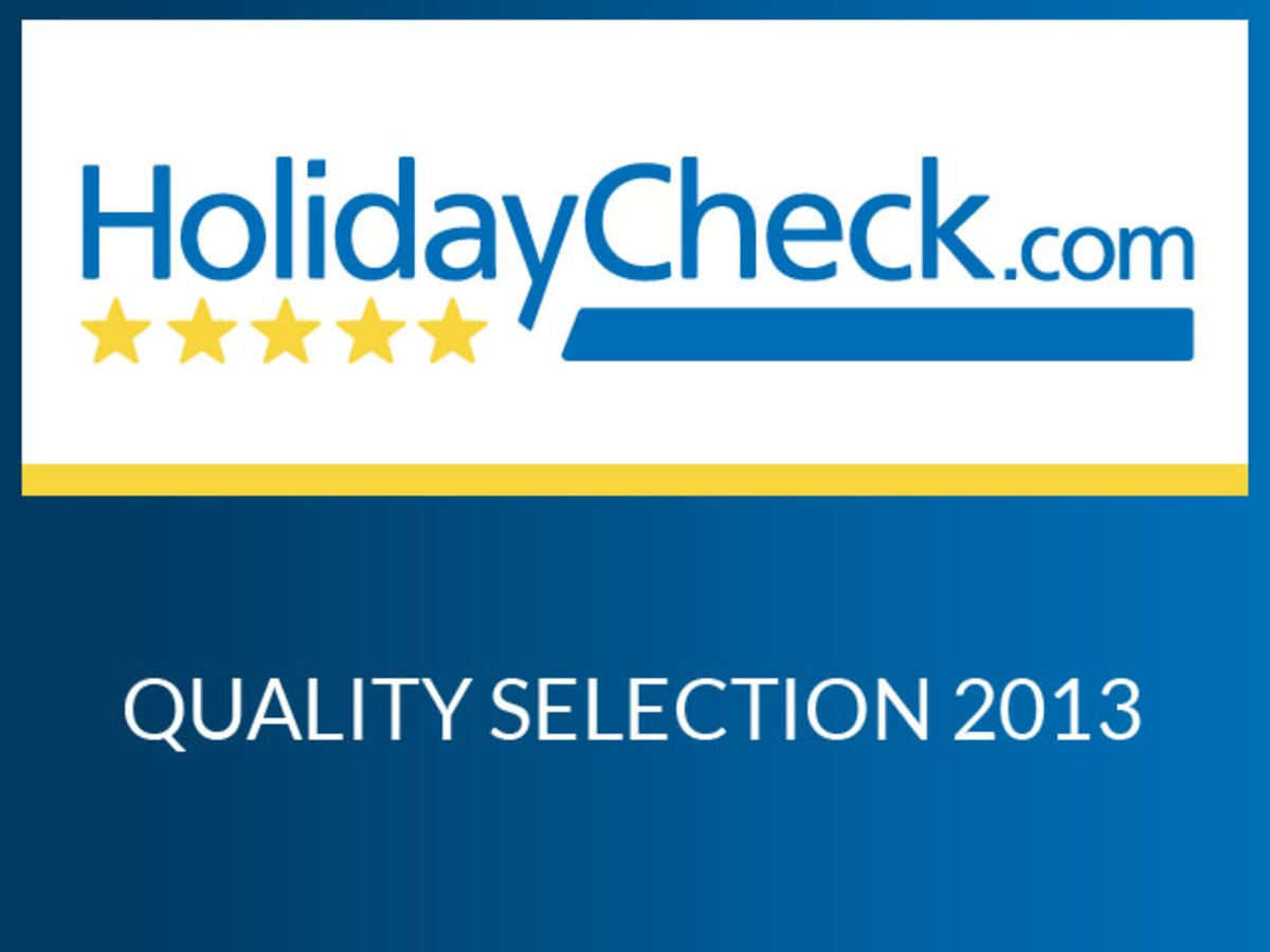 Quality Selection 2012- certificate di Holiday Check. Com